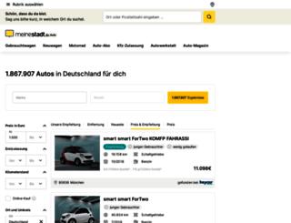 auto.meinestadt.de screenshot