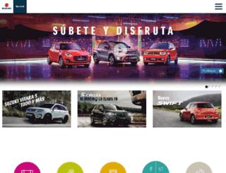 auto.suzuki.es screenshot