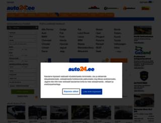 auto24.ee screenshot