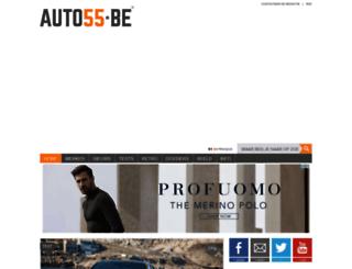 auto55.be screenshot