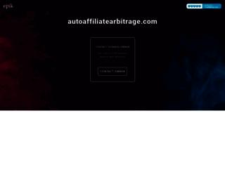 autoaffiliatearbitrage.com screenshot