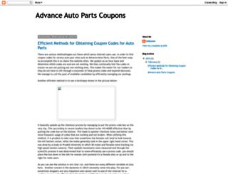 autoandcarparts.blogspot.com screenshot
