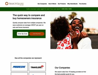 autoandhome.selectquote.com screenshot