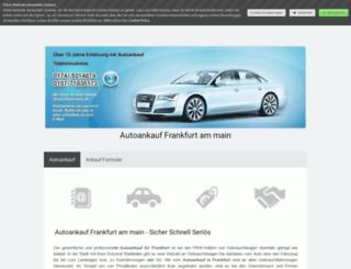 autoankauf-frankfurt-am-main.jimdo.com screenshot