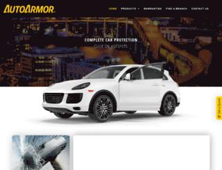 autoarmor.co.za screenshot