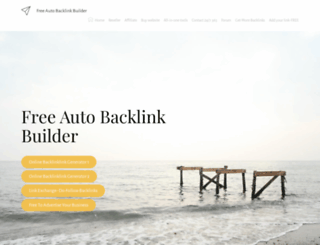 autobacklinkbuilder.com screenshot