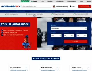autobanden-365.nl screenshot