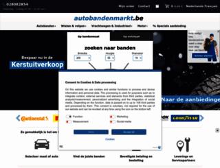 autobandenmarkt.be screenshot
