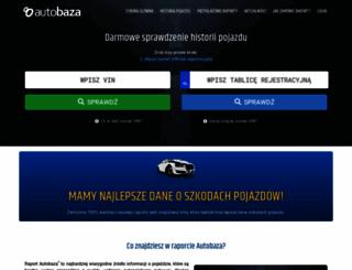 autobaza.pl screenshot