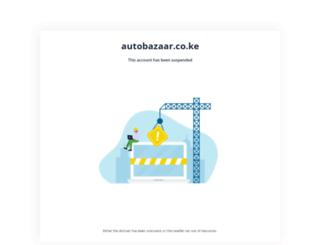 autobazaar.co.ke screenshot