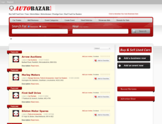 autobazar.co.uk screenshot