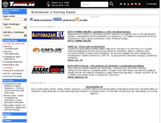 autobazar.tuning.sk screenshot