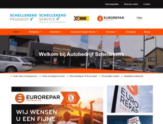 autobedrijf-schellekens.nl screenshot