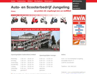 autobedrijfjungeling.nl screenshot