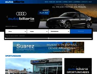 autobiliaria.com.ar screenshot