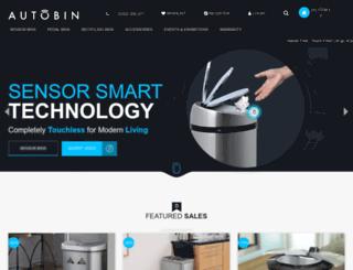 autobin.co.uk screenshot