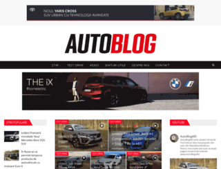 autoblog.md screenshot
