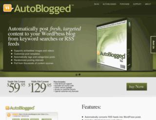 autoblogged.com screenshot