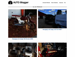 autoblogger.de screenshot