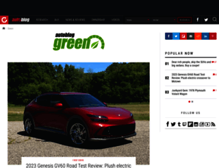 autobloggreen.com screenshot