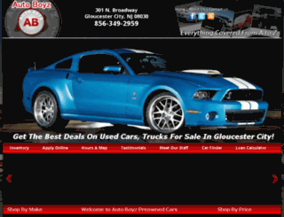 autoboyznj.com screenshot
