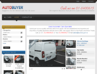 autobuyer.ie screenshot