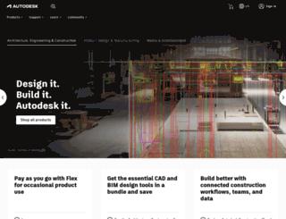 autocad-dersi.com screenshot