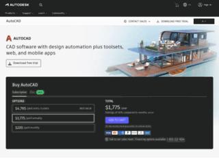 autocad.autodesk.com screenshot