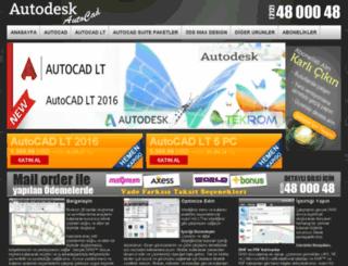 autocadlt.programmerkezi.com screenshot