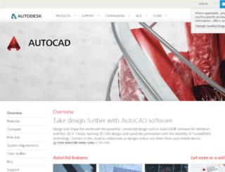 autocadogren.net screenshot