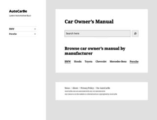 autocarbe.com screenshot