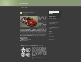 autocares.wordpress.com screenshot