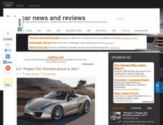autocarreview2013.com screenshot