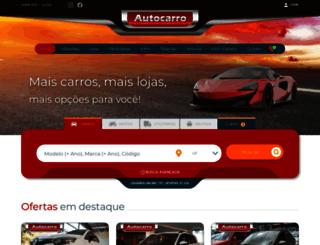 autocarro.com.br screenshot