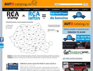 autocatalog.ro screenshot
