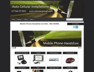 autocellular.co.uk screenshot