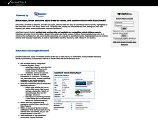 autocheck.dealersuite.com screenshot