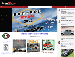 autoclasico.com.mx screenshot