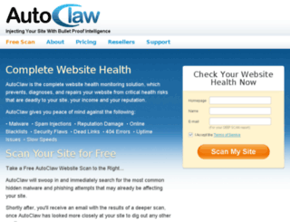 autoclaw.com screenshot