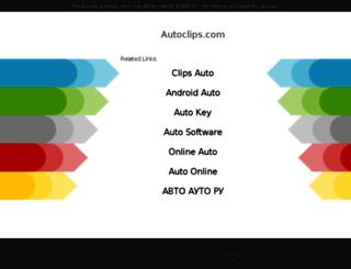 autoclips.com screenshot