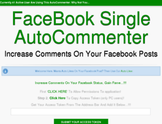 autocommenter.ga screenshot