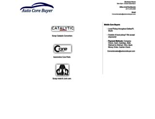 autocorebuyer.com screenshot