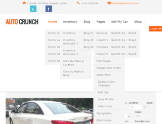autocrunch.com screenshot