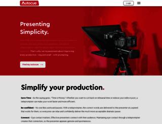 autocue.com screenshot