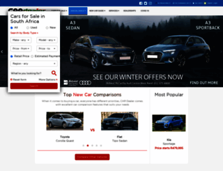 autodealer.co.za screenshot