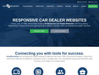 autodealerwebsites.com screenshot