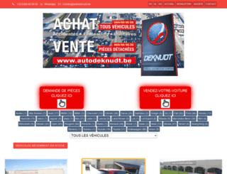 autodeknudt.com screenshot