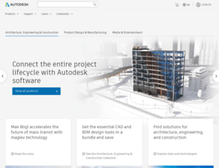 autodesk.com.hk screenshot
