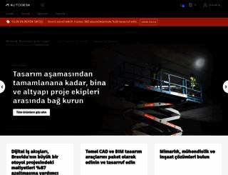 autodesk.com.tr screenshot