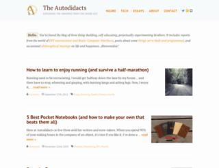 autodidacts.io screenshot